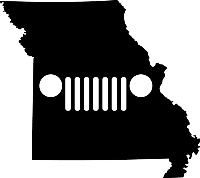 Missouri Grille Decal