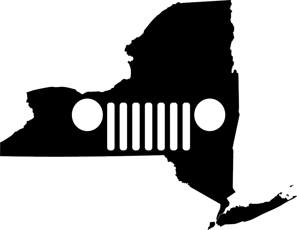 New York Grille Decal