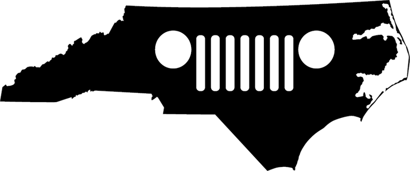 North Carolina Grille Decal