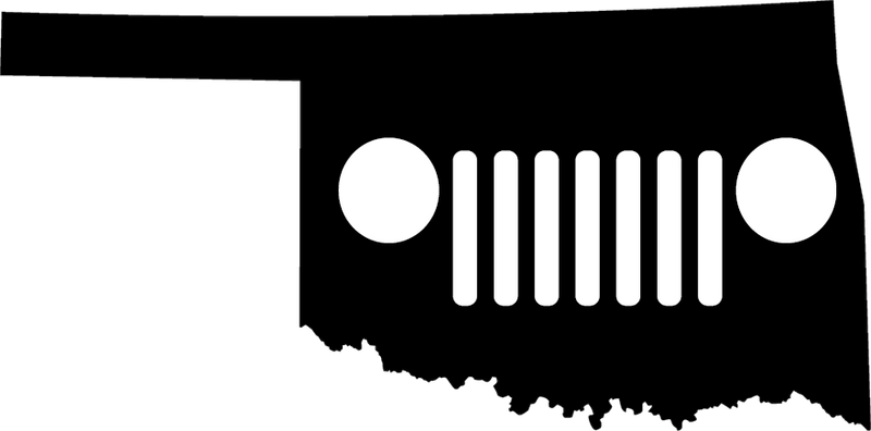 Oklahoma Grille Decal