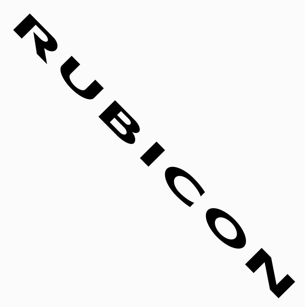 "Replica ""RUBICON"" Hood Decals"