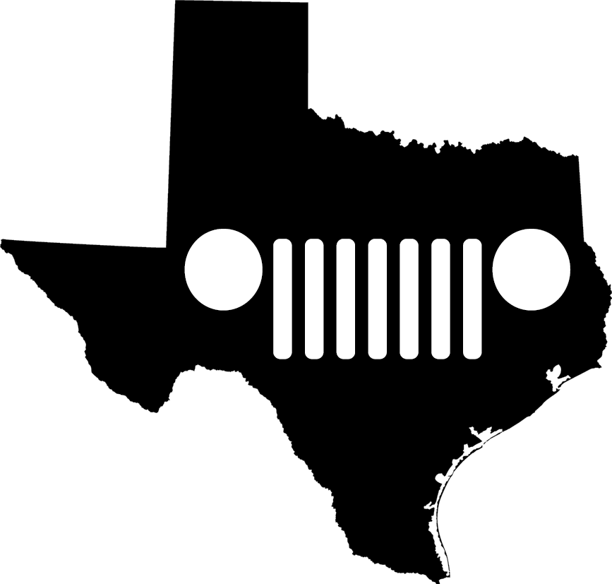 Texas Grille Decal
