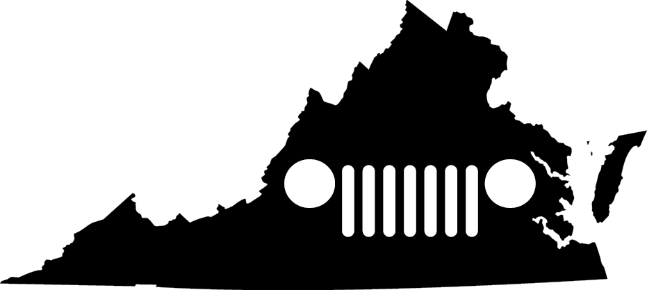 Virginia Grille Decal