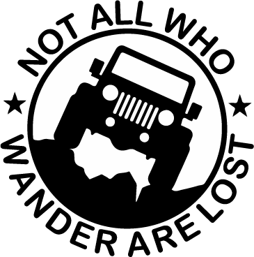 Wander decal *custom color and with or without jeep*