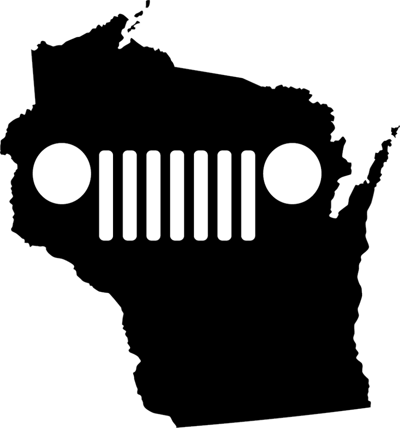 Wisconsin Grille Decal