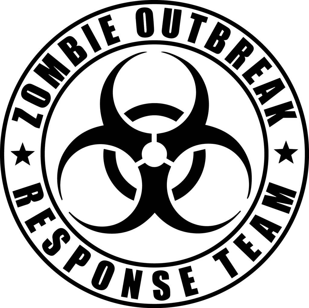 The gallery for --> Zombie Response Team Decal
