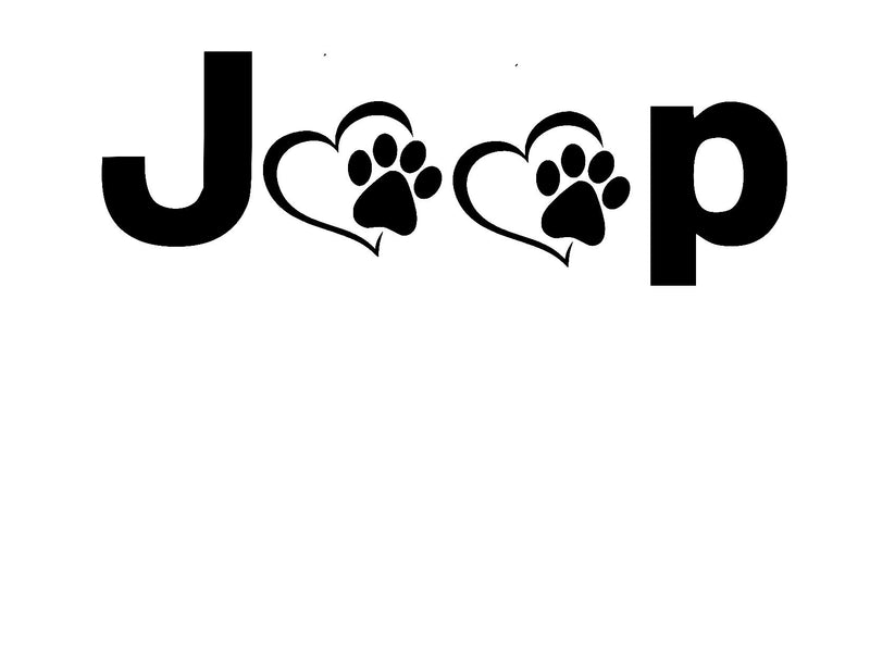 Jp with hearts and paw prints