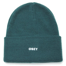 Load image into Gallery viewer, OBEY FLUID BEANIE MENS MALLARD GREEN
