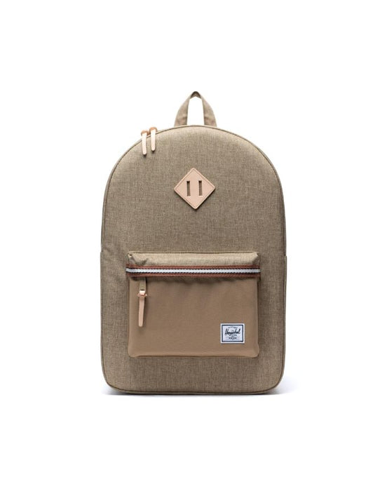 HERSCHEL HERITAGE BACKPACK KELP CROSSHATCH