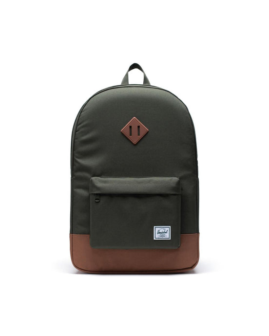 HERSCHEL HERITAGE BACKPACK DARK OLIVE