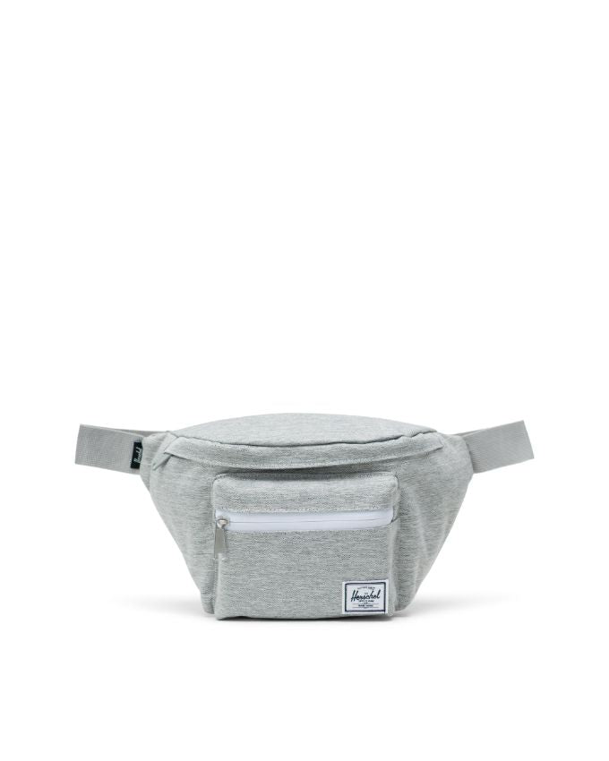 HERSCHEL SEVENTEEN HIP PACK LIGHT GREY CROSSHATCH