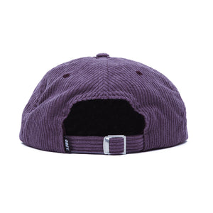OBEY COLUMN 6 PANEL STRAPBACK PURPLE OLIVE