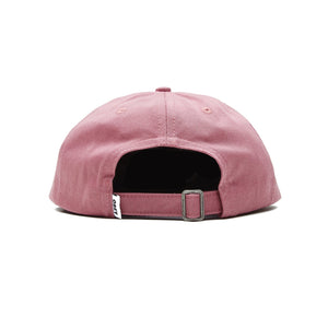 OBEY BLOCK 6 PANEL STRAPBACK MESAROSE