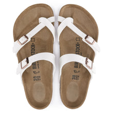 Load image into Gallery viewer, BIRKENSTOCK MAYARI BIRKO-FLOR WHITE