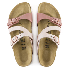 Load image into Gallery viewer, BIRKENSTOCK SALINA NUBUCK LEATHER ROSE/OLD ROSE