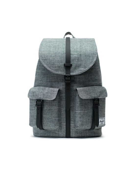 HERSCHEL DAWSON BACKPACK RAVEN CROSSHATCH BLACK