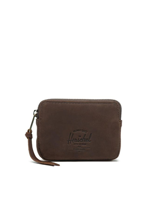HERSCHEL OXFORD WALLET NUBUCK LEATHER