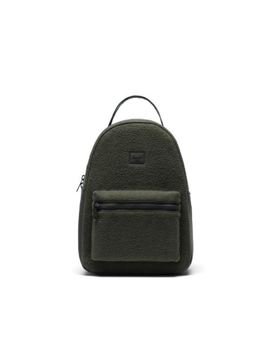HERSCHEL NOVA BACKPACK SMALL DARK OLIVE SHERPA