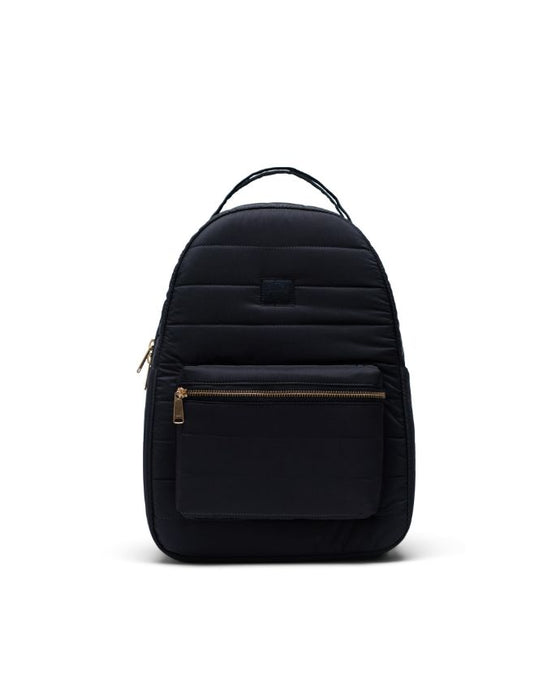 HERSCHEL NOVA BACKPACK MID-VOLUME QUILTED BLACK