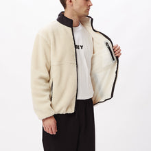 Load image into Gallery viewer, OBEY THIEF SHERPA JACKET NATURAL