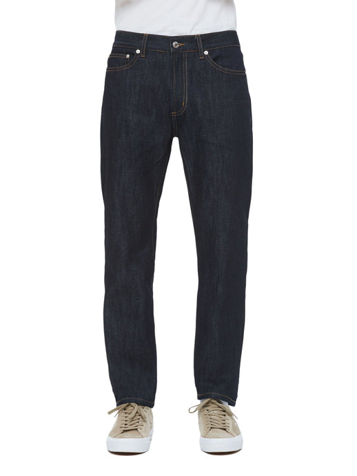 OBEY  NEW THREAT DENIM PANT II RAW INDIGO