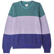Load image into Gallery viewer, OBEY JONI SWEATER OIL BLUE