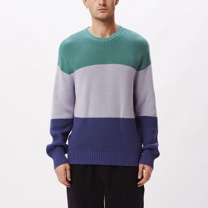 OBEY JONI SWEATER OIL BLUE