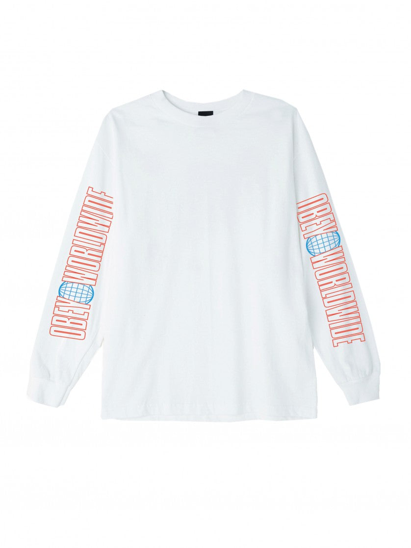 OBEY WORLDWIDE 2 BASIC LONG SLEEVE T-SHIRT