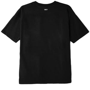 OBEY RESPECT AND UNITY T-SHIRT (MEN'S) BLACK