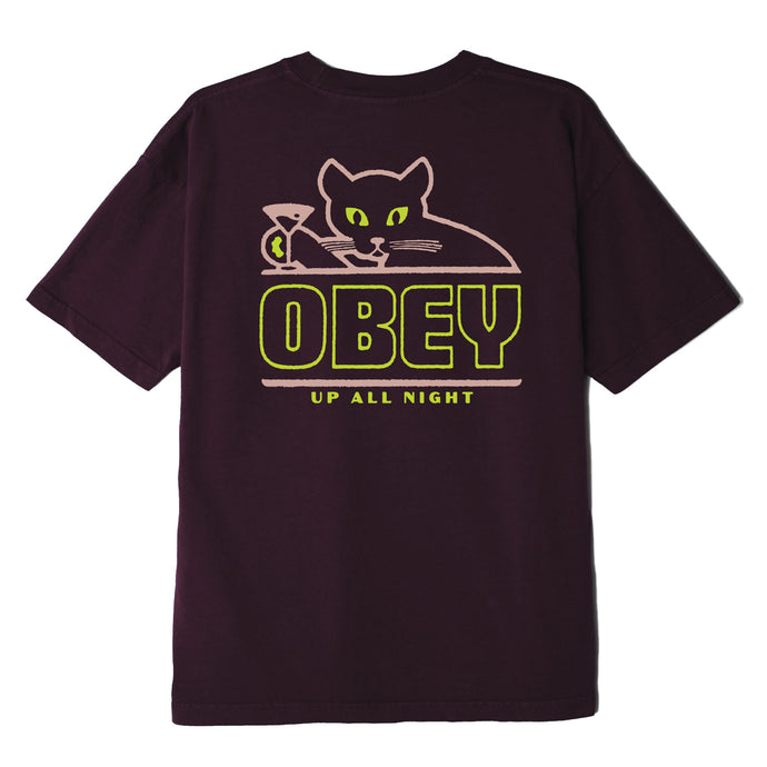 OBEY UP ALL NIGHT T-SHIRT