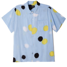 Load image into Gallery viewer, OBEY ECHO SHORT SLEEVE BUTTON UP SKYBLUE MULTI