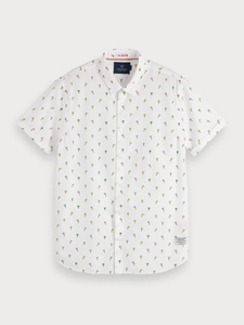 SCOTCH & SODA SHORT SLEEVE PRINTED SHIRT