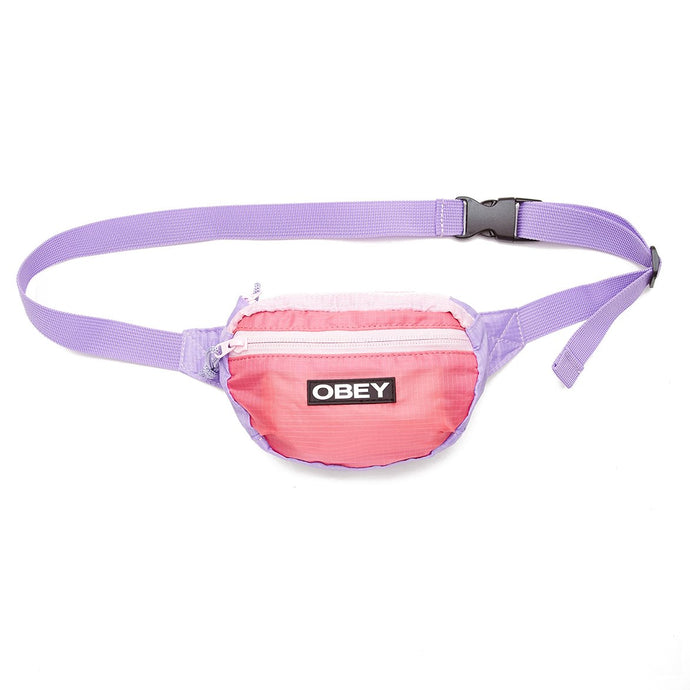 OBEY RAPIDS WAISTPACK PINK/PURPLE