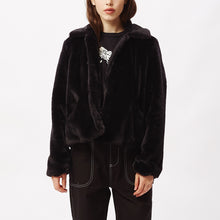 Load image into Gallery viewer, OBEY ICON FAUX FUR JACKET