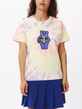 Load image into Gallery viewer, OBEY SCARE BEARS TIE DYE CUSTOM BOX T-SHIRT