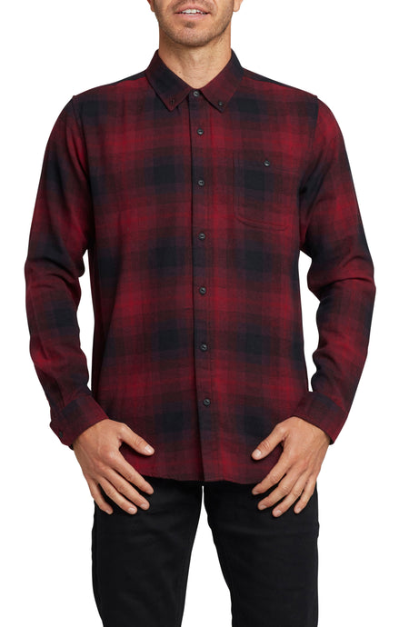 CHECKMATE LONG SLEEVE BUTTON UP