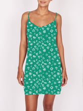 Load image into Gallery viewer, OBEY JADE MINI DRESS EMERALD MULTI