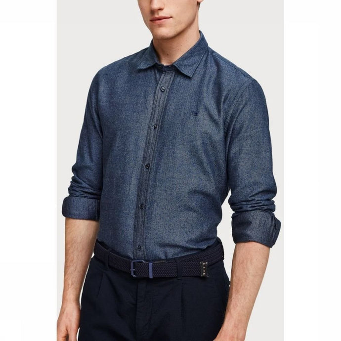 SCOTCH & SODA STRUCTURED BUTTON-UP