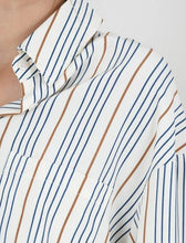 Load image into Gallery viewer, STRIPED BUTTON UP