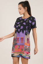 Load image into Gallery viewer, MOLLY BRACKEN CUBA PRINTED MINI DRESS