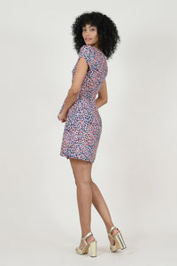 MOLLY BRACKEN PANTHER MINI DRESS
