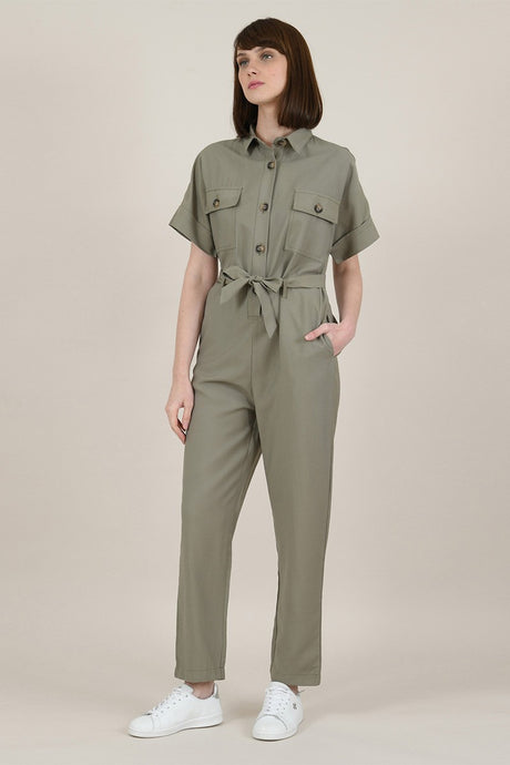 MOLLY BRACKEN SAFARI JUMPSUIT