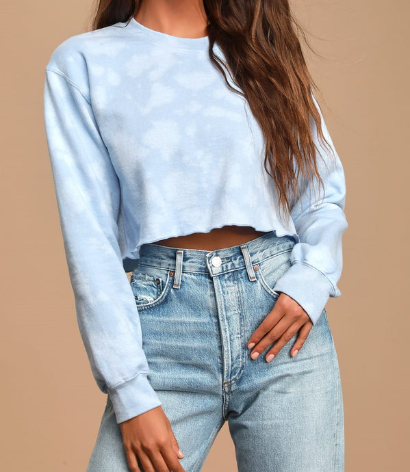 CHLOE CROP SWEATSHIRT