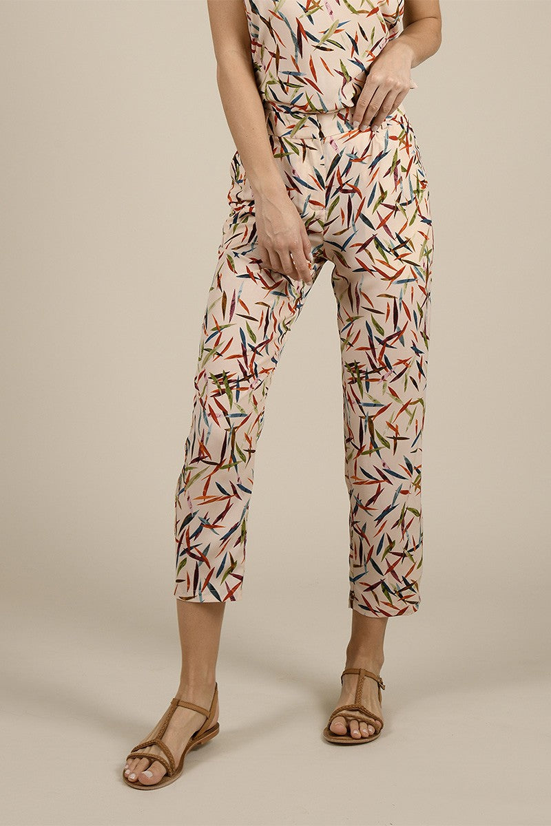MOLLY BRACKEN ALL OVER PRINTER TROUSER