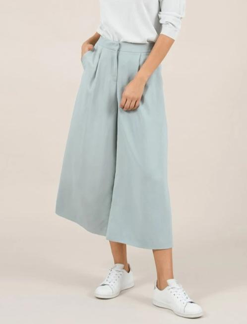 MOLLY BRACKEN WIDE LEG PANT