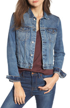 Load image into Gallery viewer, SCOTCH & SODA PLEATED DENIM TRUCKER JACKET