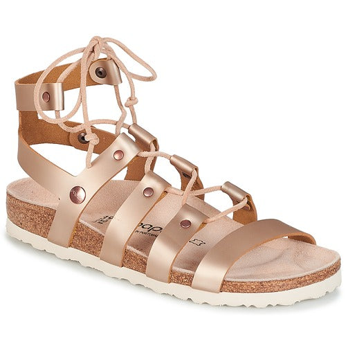 CLEO METAL ROSE GLADIATOR SANDAL