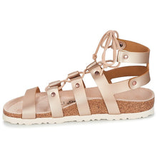 Load image into Gallery viewer, CLEO METAL ROSE GLADIATOR SANDAL