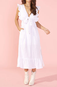 MINKPINK GISELLE REVERISBLE MIDI DRESS