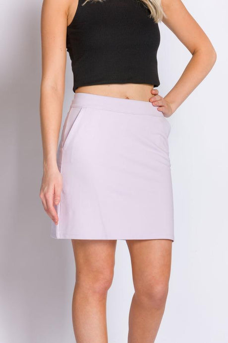 ABLY HOLLY SKIRT LAVENDER FOG